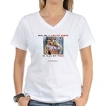 Welcome to Texas! #884 Women's V-Neck T-Shirt