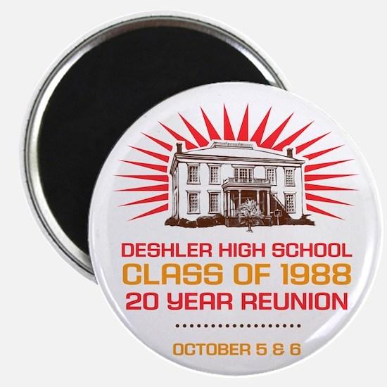 Deshler High School 1988 Class Reunion Magnet