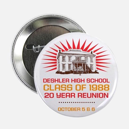 "Deshler High 2.25"" Reunion Button"