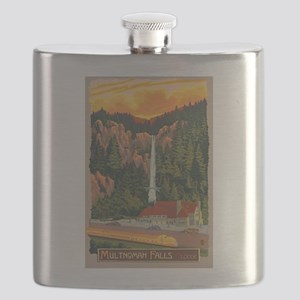 Multnomah Falls, Oregon Flask