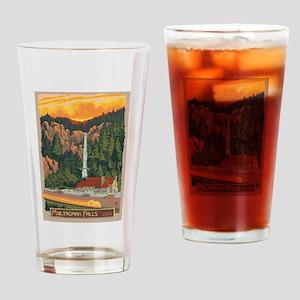 Multnomah Falls, Oregon Drinking Glass