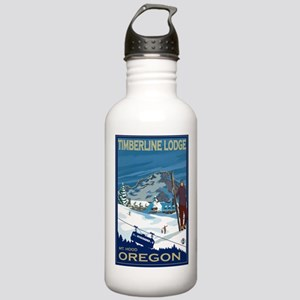 Mt Hood, Oregon - Timberline Lodge Water Bottle