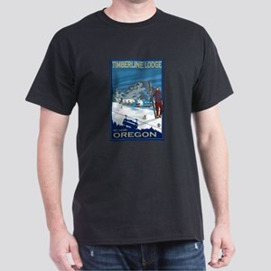 Mt Hood, Oregon - Timberline Lodge T-Shirt
