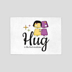 Hug 5'x7'Area Rug