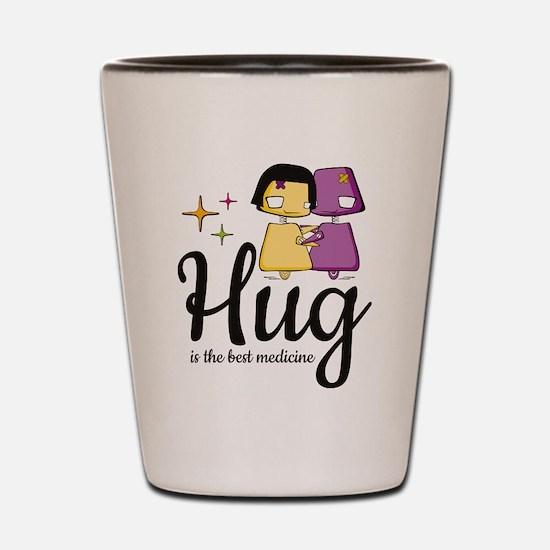 Hug Shot Glass