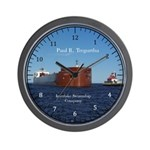 Paul R. Tregurhta Duluth Wall Clock