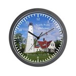 North Point Lighthouse Wall Clock