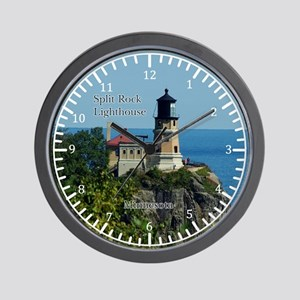 Split Rock Lighthouse Wall Clock