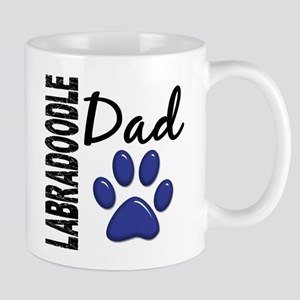 Labradoodle Dad 2 Large Mugs