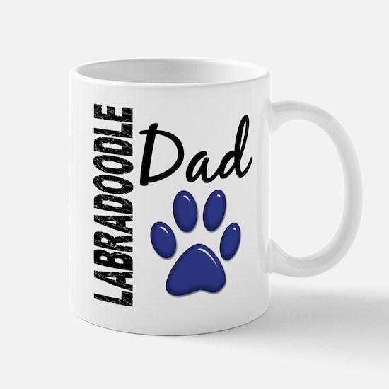 Labradoodle Dad 2 Large Mugs