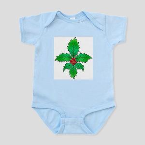 Holly Fleur de lis Infant Bodysuit