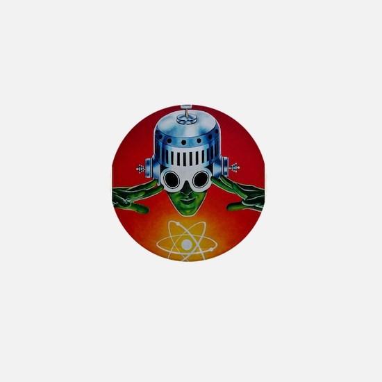 Unique Astronaut Mini Button