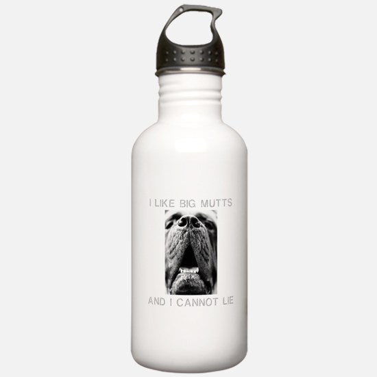 I Like Big Mutts Water Bottle