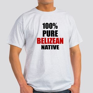 100 % Pure Belizean Native Light T-Shirt