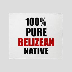 100 % Pure Belizean Native Throw Blanket