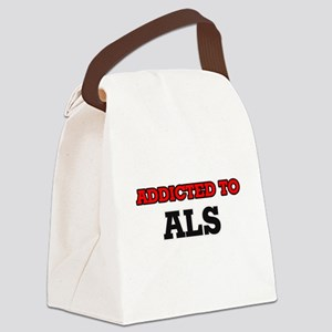 Addicted to Als Canvas Lunch Bag