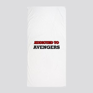 Addicted to Avengers Beach Towel