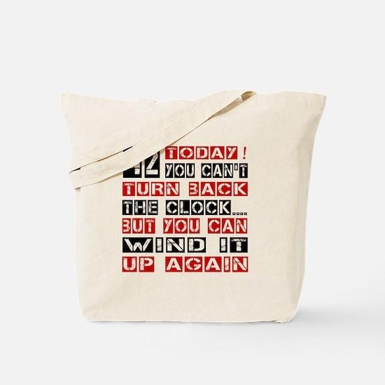 42 Turn Back Birthday Designs Tote Bag
