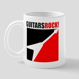 Guitars Rock Mug