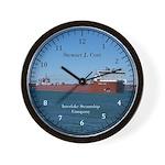 Stewart J. Cort Wall Clock