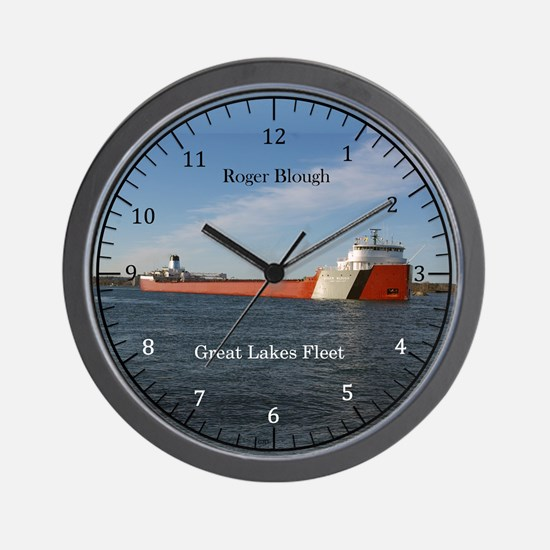 Roger Blough Wall Clock