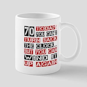 70 Turn Back Birthday Designs Mug
