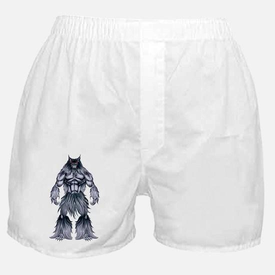 Cute Werewolf Boxer Shorts