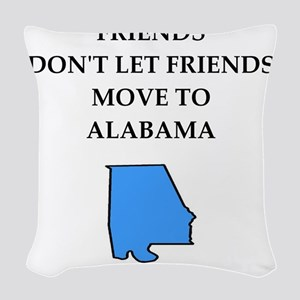 alabama Woven Throw Pillow