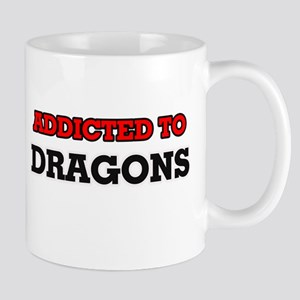 Addicted to Dragons Mugs