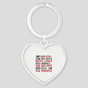 64 Turn Back Birthday Designs Heart Keychain