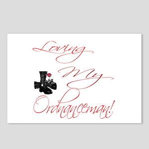loving my Ordnanceman Postcards (Package of 8)