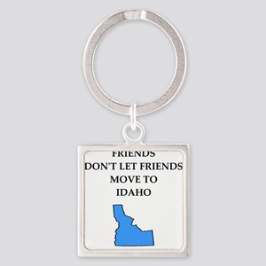 i hate this state Keychains