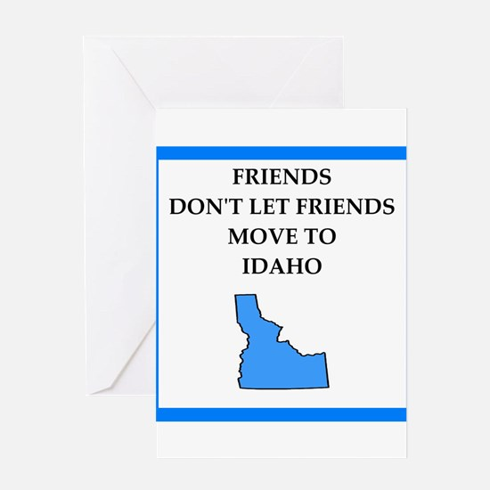 i hate this state Greeting Cards