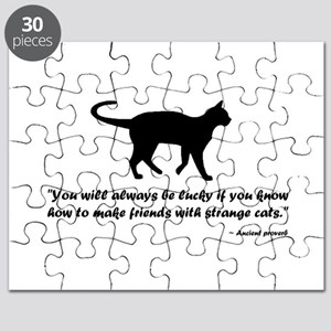 Ancient Cat Proverb Puzzle
