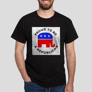 Proud Republican (Front) Ash Grey T-Shirt