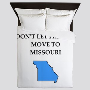 i hate this state Queen Duvet