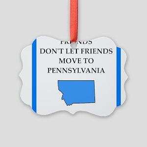 pennsylvania Ornament