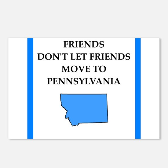 pennsylvania Postcards (Package of 8)