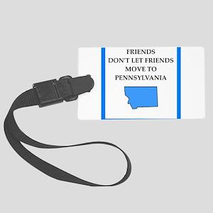 pennsylvania Luggage Tag