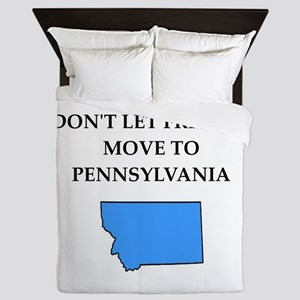 pennsylvania Queen Duvet