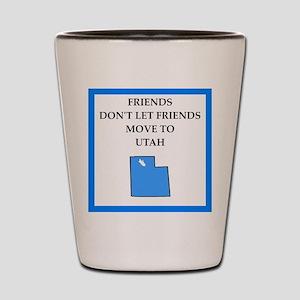 utah Shot Glass