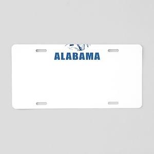 America State Alabama Desig Aluminum License Plate