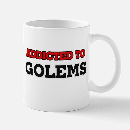 Addicted to Golems Mugs
