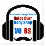 VOBS color logo Square Car Magnet 3