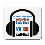 VOBS color logo Mousepad