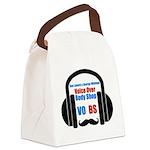 VOBS color logo Canvas Lunch Bag