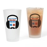 VOBS color logo Drinking Glass