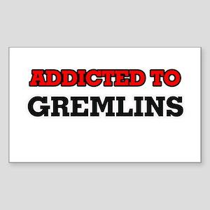 Addicted to Gremlins Sticker