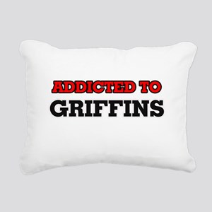 Addicted to Griffins Rectangular Canvas Pillow