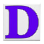 New Orleans Street Name Tile D Coaster